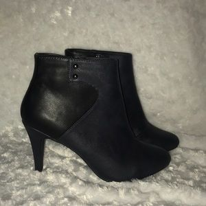 Nicole Miller Ankle booties.